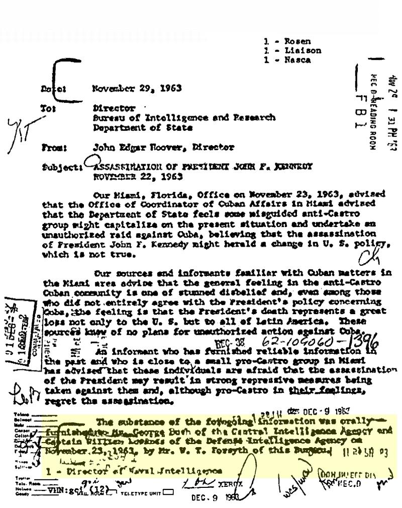 JFK Documents
