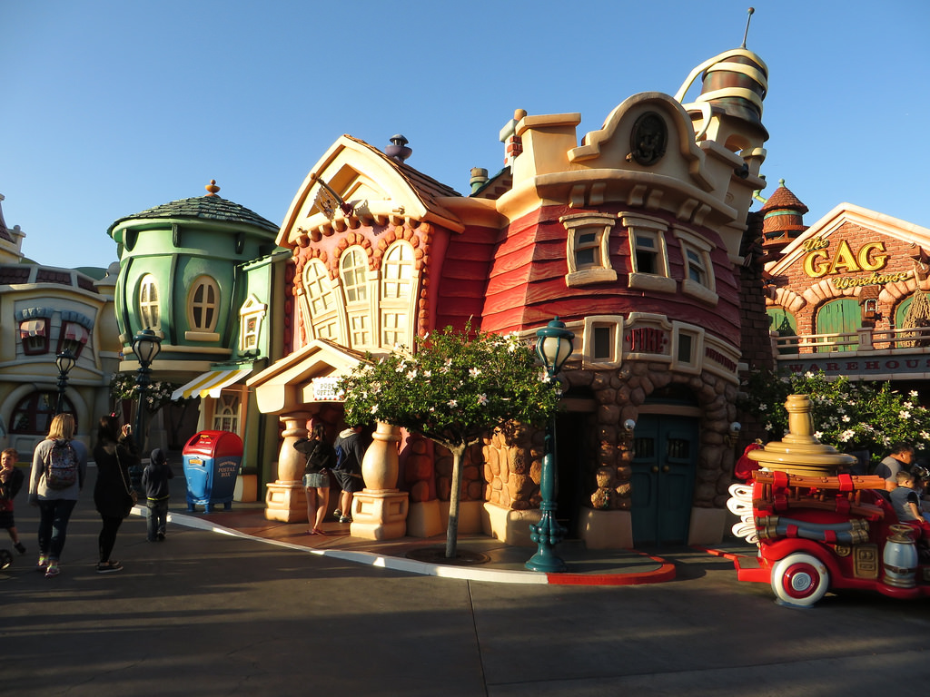Mickey's Toontown Area