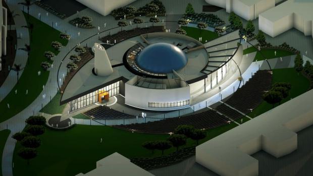 Orange Coast College Planetarium