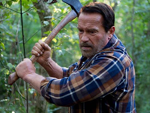 Arnold Schwarzenegger starring in a zombie film with Abigail Breslin