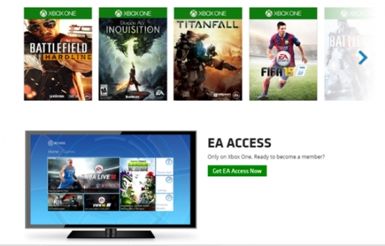 EA Access going for free for Xbox Live Gold members this week