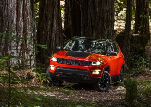 Fiat Chrysler's 2017 Jeep Compass SUV makes its global debut in Pernambuco, Brazil