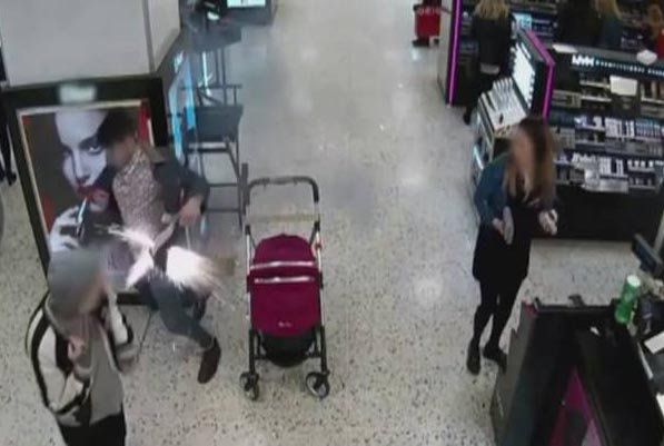 Fire crews release CCTV footage to warn of dangers of exploding e-cigarette batteries
