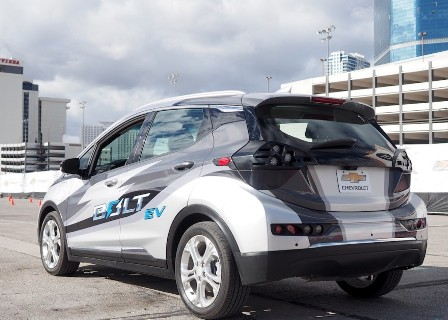 GM starts testing self-driving Chevrolet Bolt EVs