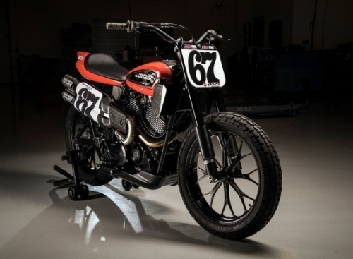 Harley-Davidson introduces all-new flat-track race bike --- XG750R