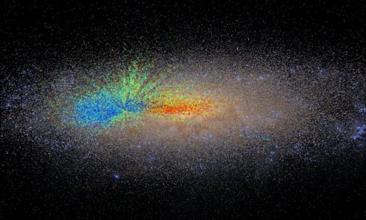 Largest Galactic 'Age Map' helped Astronomers Measure Age of Stars across Milky Way