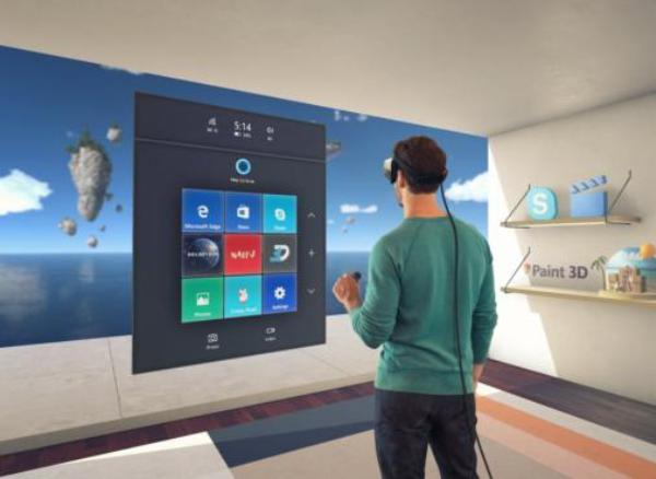 Microsoft to launch low-end mixed-reality headsets in December