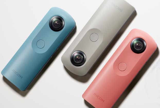 Ricoh launches new 360-degree camera for consumers --- Theta SC