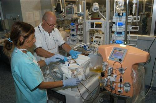 Scientists invent kidney dialysis machine for babies