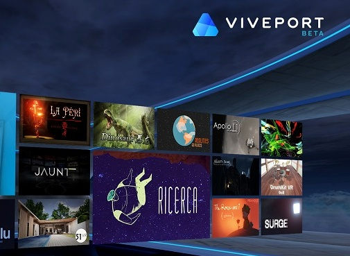 HTC to launch 'Viveport' VR-focused app store this fall