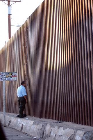 Calexico Border Wall