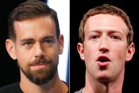 Extremist group threatens Mark Zuckerberg and Jack Dorsey in IS propaganda video