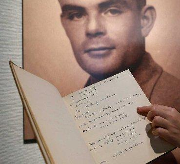 Notebook belonging to Alan Turing goes on Sale