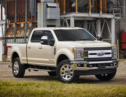 Ford unveils 2017 F-series Super Duty trucks in Denver