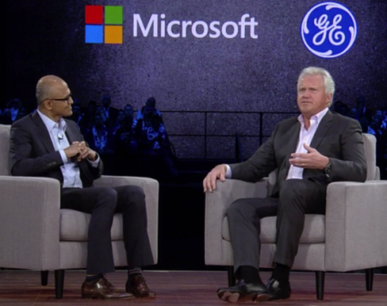 GE, Microsoft launch Industrial IoT partnership