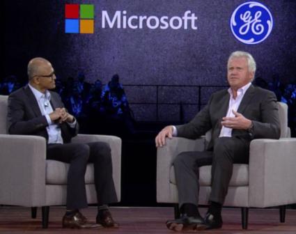 GE, Microsoft partner to bring GE's Predix platform to Azure cloud