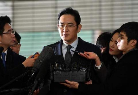 Samsung's vice chairman arrested in $40M corruption scandal