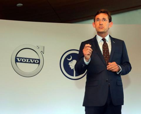 Volvo is opening research and engineering center in Mountain View, California