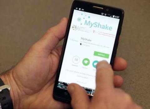 New 'MyShake' app can turn smartphones into earthquake sensors