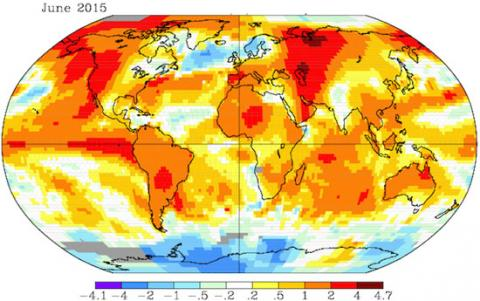 2015 was the Hottest Year on World Record, Says NASA and NOAA