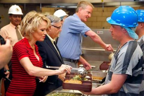 Pamela Anderson criticized over her support for an Arizona sheriff