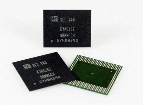 Samsung unveils world's first 8GB LPDDR4 DRAM package