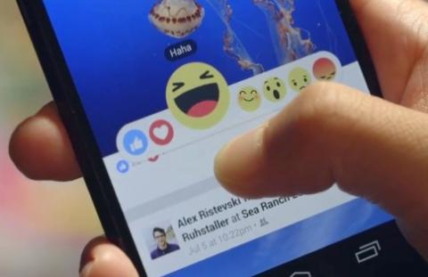 Facebook will roll out new 'Reactions' button for users in coming weeks