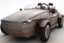 Toyota to unveil 'wooden' electric roadster concept at Milan Design Week