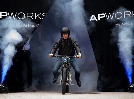 APWorks has developed 3D printed electric motorcycle