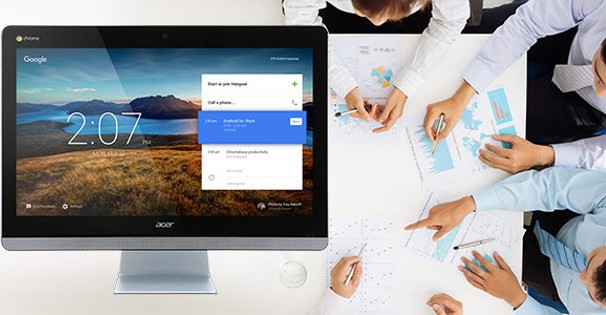 Acer launches touchscreen Chromebase for meetings