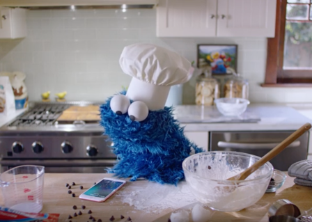 Apple's new iPhone 6s ad stars Cookie Monster to highlight 'Hey Siri' feature