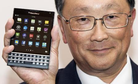 Blackberry will no more use in-house operating system, says CEO John Chen