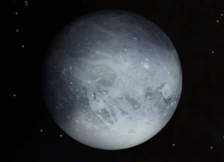 NASA releases image featuring Charon cloaked in darkness