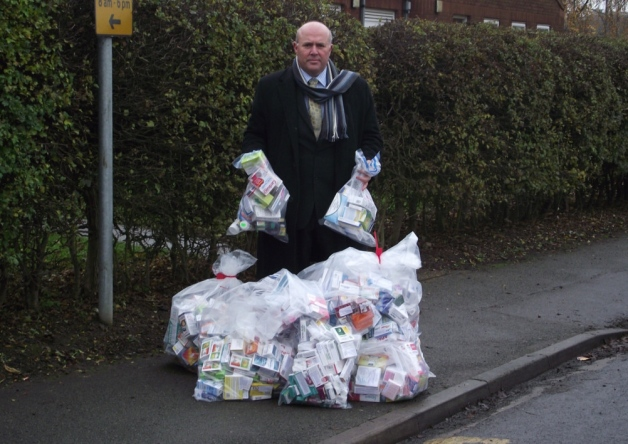 £9m of fake drugs seized in dawn raids
