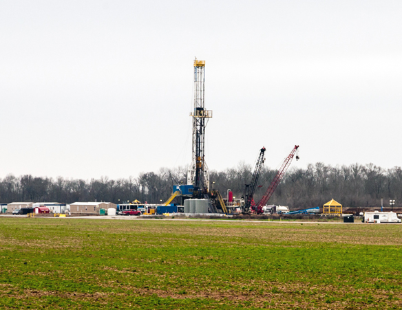 Living in areas near hydraulic fracturing increases Chances to be hospitalized