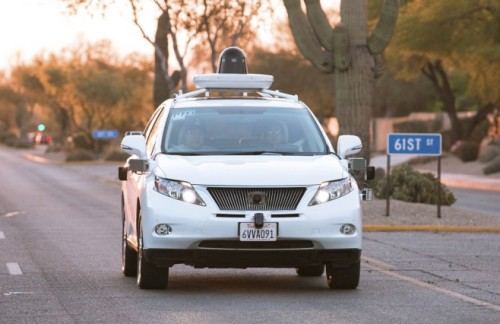 Google testing self-driving Lexus SUVs in Phoenix area