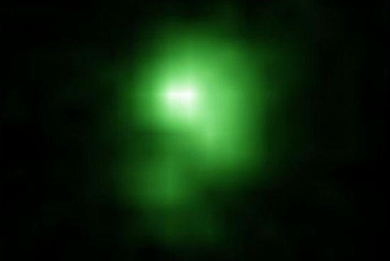 'Green pea' galaxies may shed light on formation of early universe, study suggests