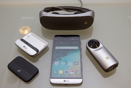 LG announces '360 VR' headset pairable with G5 smartphone