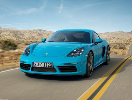 New Porsche 718 Cayman is being assembled in Germany