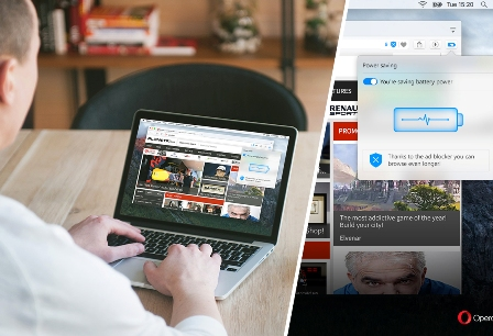 Opera adds new 'low-power mode' to its desktop browser