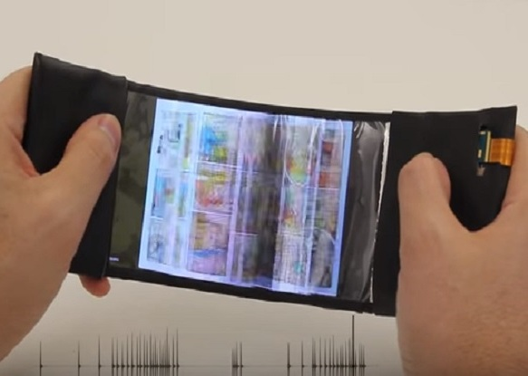 Canadian researchers unveil bendy smartphone prototype called 'ReFlex'