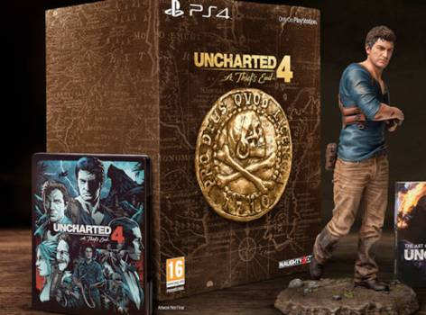 Sony to launch Limited Edition Uncharted 4 PS4 Bundle on April 26