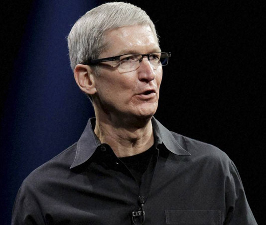 Apple CEO calls for 'massive campaign' to tackle fake online news stories