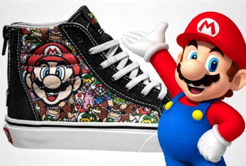 Vans collaborates with Nintendo for its new 'Vans x Nintendo Collection'