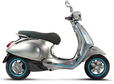 Vespa launches its first ever electric scooter model