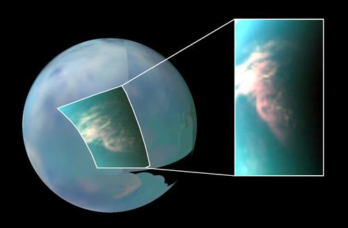Rare Tropical Methane Storms Could Solve Mystery behind Strange Dunes on Titan