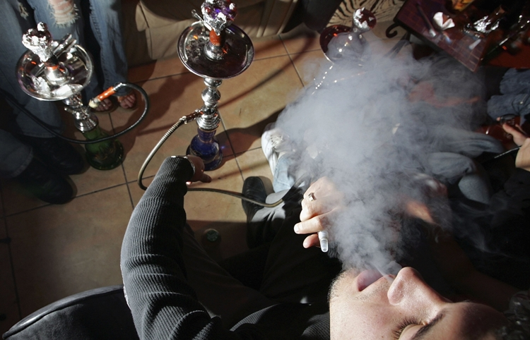 Baltimore hookah bars contain elevated levels of carbon monoxide and air nicotine