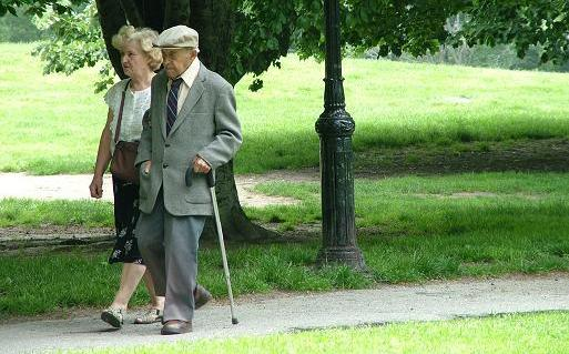 Maintaining mobility in older adults can be as easy as a walk in the park