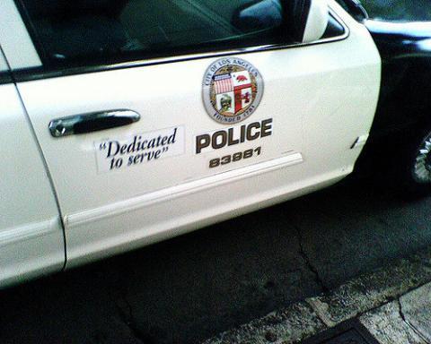 LAPD Cars
