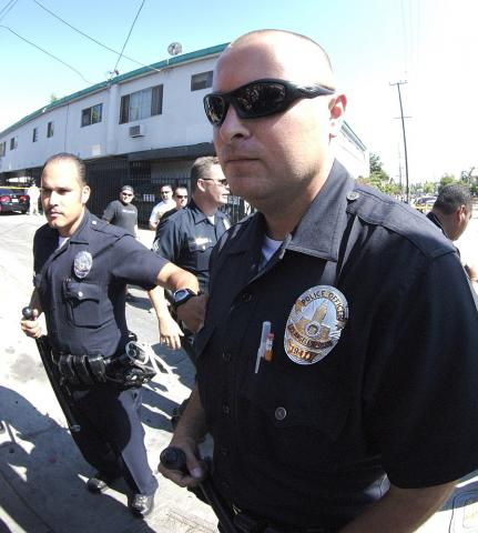 LAPD Officers